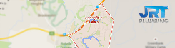 map of plumbing service for Springfield Lakes