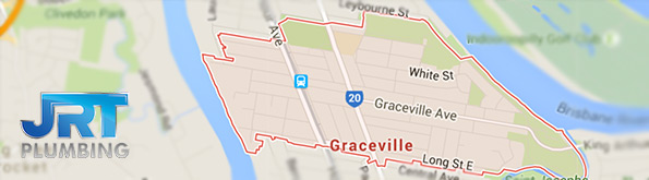 Map of Graceville for plumbing service